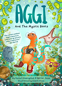 Aggi and the Mystic Boots book cover